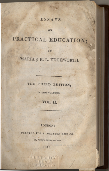 Essays on Practical Education