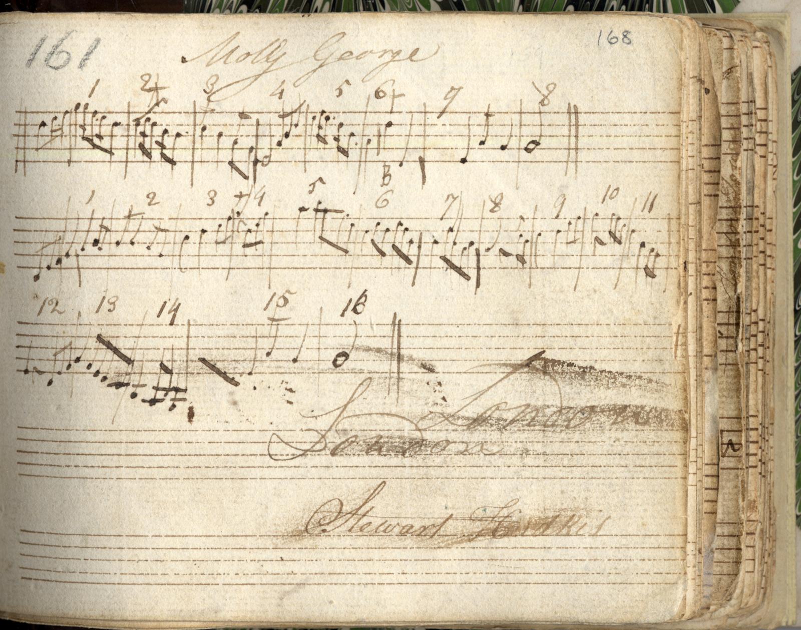 MS 4/29, Manuscript book of Irish airs