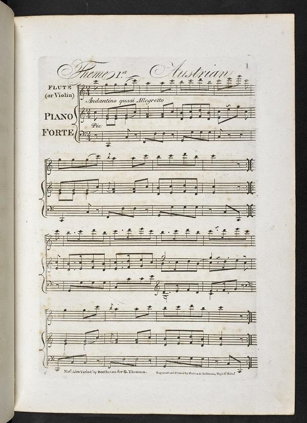 Ludwig van Beethoven's Twelve National Airs