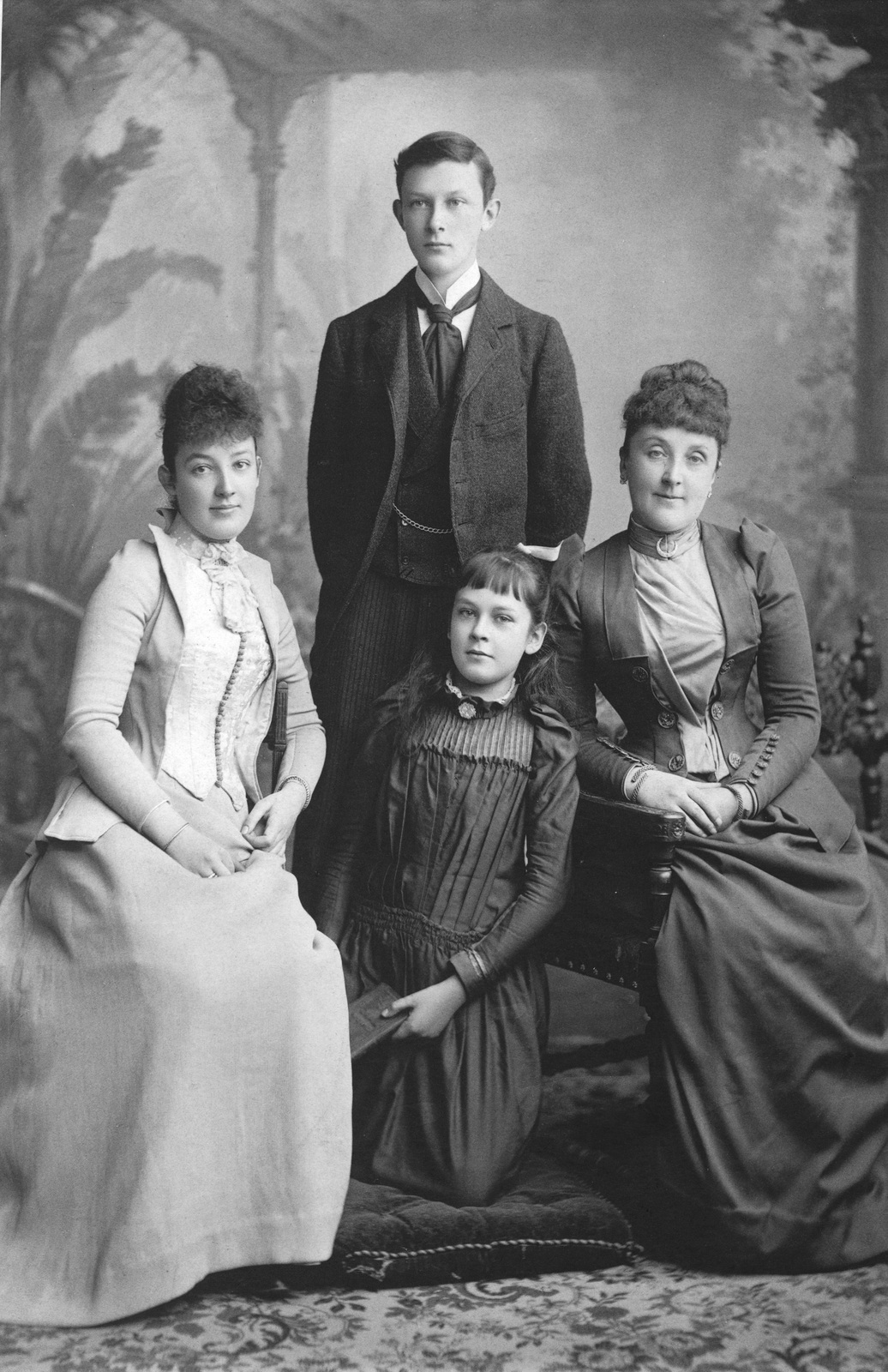 Hart Family c. 1888