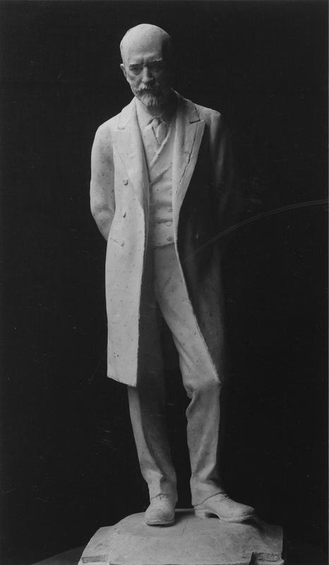 Rough model of proposed statue of Sir Robert Hart