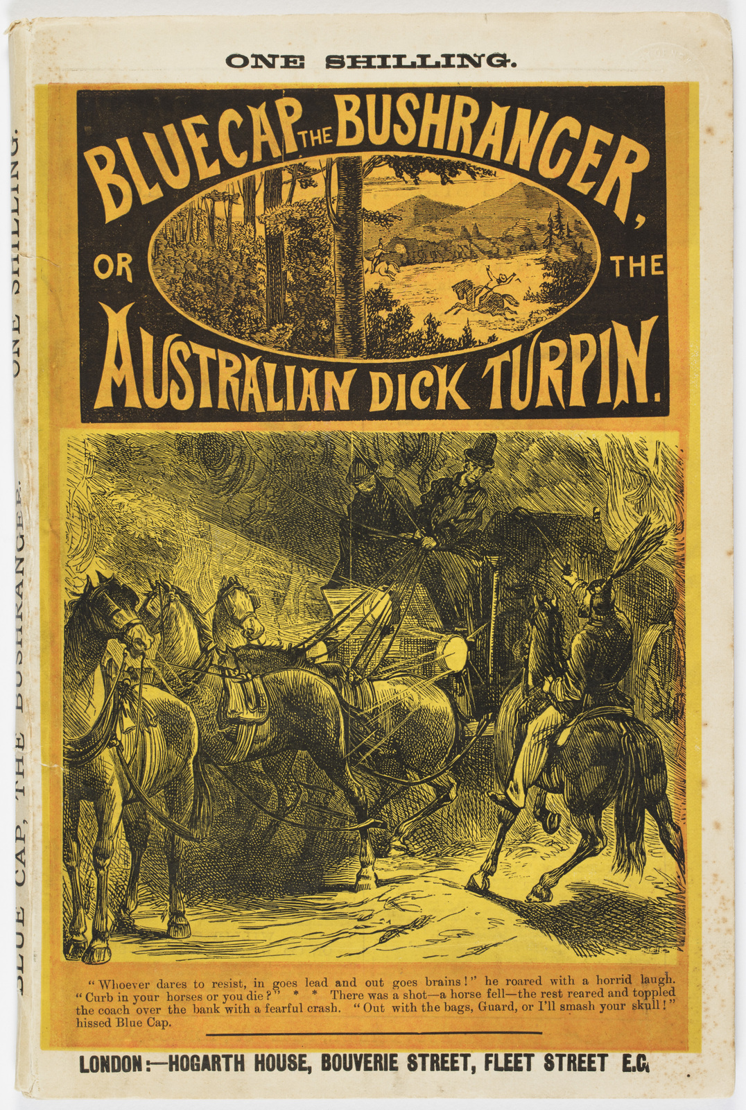Bluecap, the Bushranger, or, The Australian Dick Turpin