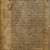 Cambridge, Corpus Christi College, MS 173, fol. 10v; Parker Chronicle