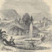Lalla Rookh and Feramorz, in %22this dear valley%22, by George Dodgson.1860a, p. 233.jpg