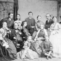 Hart Family, Ireland ca. 1866.