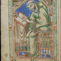 Cambridge, Trinity College, MS R.17.1, f. 283v; Tripartitum Psalterium Eadwini (The Eadwine Psalter)