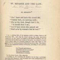 St. Senanus.Longmans, 1846, p. 23.jpg