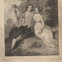 Tis believed that this harp.illustration.Jersey, Collins & Payn 1828, illustrated edn.jpg