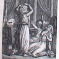 Mokanna unveils himself to Zelica.Paris, 1820d.jpg
