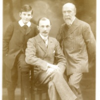 Three generations of Hart family, 1909