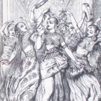 LR.L1.1880a.Veiled Prophet's harem, dancing.Tenniel.jpg