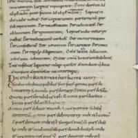Cambridge, Corpus Christi College, MS 326, p. 135: Aldhelm, De laudibus uirginitatis