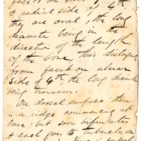 Holden, Luther, 1815-1905. Human Osteology, Handwritten notes re Plates L and LI, side 1.jpg