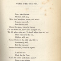 Come o'er the sea.Irish Melodies ... with an appendix, 11th ed.Longmans, 1834, p.121.jpg