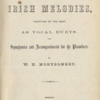 Moore's Irish Melodies arr. Montgomery.London J.Allen, [1861], Title-page..jpg