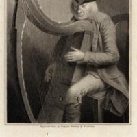 MS 4/35/41 Loose plate, Denis Hemspon, the harper of Magilligan, Co. Derry