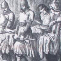 LR.L1.1880a.Captive Hinda with Ghebers, Hafed.Tenniel.jpg