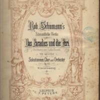 Schumann.Das Paradies und die Peri, Leipzig, [1890], title-page.jpg