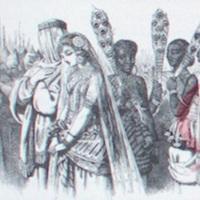 Mokanna with Zelica by Tenniel.1863a, p. 102 .jpg