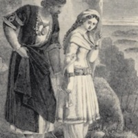 Hafed with Hinda, by E.H. Corbould.1860a, p.202.jpg