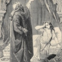 %22A Day more rich in pagan blood%22; Al Hassad with Hinda, by E.H. Corboud.1860a, p. 175.jpg
