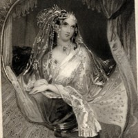 Portrait of Lalla Rookh (Kenny Meadows)