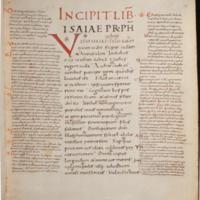 HERZOG AUGUST BIBLIOTHEK WOLFENBUETTEL: COD. GUELF. 33 WEISS., FOLIO 5R