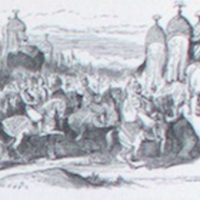 Lalla Rookh's retinue by Tenniel.1863a, p.321.jpg