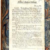Thomson, Samuel Smith, 1778-1849, Dissertatio medica inauguralis, de rubeola (Simm RC168 M4 THOM) - Inside Cover Side 1.jpg