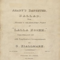 Kiallmark.Araby's Daughter. Title-page.jpg