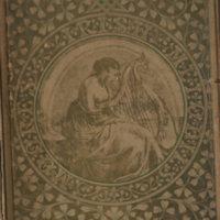 Front cover.Irish Melodies illus Maclise.Longmans, 1846.jpg