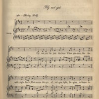 Fly not yet.A selection of Irish Melodies, ed. Francis Robinson.Dublin,[1865], p. 27.jpg
