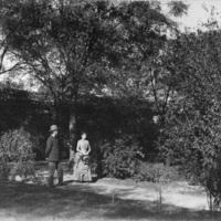 Sir Robert Hart's garden in Peking