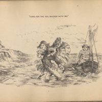 Scott, 'Come o'er the sea', Comic Illustrations, [1865].jpg