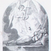 Spirit to sleeping Nourmahal, %22From Chindara's warbling fount%22 by Tenniel.1863a, p.305.jpg