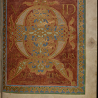 ST. GALLEN, STIFTSBIBLIOTHEK, COD. SANG. 23, PAGE 135 (FOLCHART-PSALTER (PSALTER GALLICANUM MIT CANTICA))