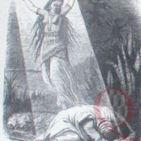 LR.L1.1880a.Zelica as angel appears to Azim, dying.Tenniel.jpg