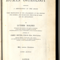 Holden, Luther, 1815-1905. Human Osteology, Title Page Crop.jpg