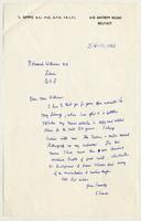 Letter from Dr. Samuel Simms